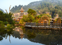 The village of the Guizhou Royalty Free Stock Images
