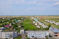 The village Halbstadt in Russia Stock Photos