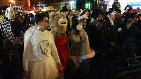 The 2014 Village Halloween Parade 15 Stock Photo
