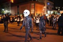 The 2015 Village Halloween Parade 58 Stock Image