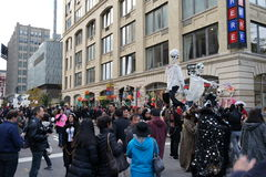 The 2015 Village Halloween Parade Part 2 2. New York's Village Halloween Parade is an annual holiday parade and street pageant presented on the night of every Stock Images