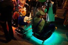 The 2015 Village Halloween Parade Part 2 34 Stock Image