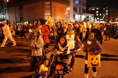 The 2015 Village Halloween Parade Part 3 49 Royalty Free Stock Images