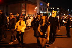 The 2015 Village Halloween Parade Part 3 51 Royalty Free Stock Photography