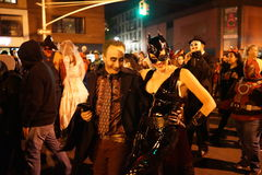 The 2015 Village Halloween Parade Part 3 54 Stock Images