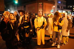 The 2015 Village Halloween Parade Part 3 55 Stock Photography