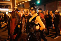 The 2015 Village Halloween Parade Part 3 61. New York's Village Halloween Parade is an annual holiday parade and street pageant presented on the night of every stock photo