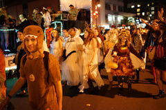 The 2015 Village Halloween Parade Part 3 72 Royalty Free Stock Images