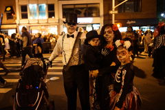 The 2015 Village Halloween Parade Part 4 22. New York's Village Halloween Parade is an annual holiday parade and street pageant presented on the night of every Stock Image