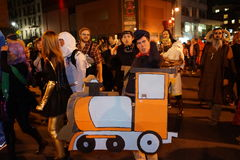 The 2015 Village Halloween Parade Part 4 24 Royalty Free Stock Images