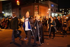 The 2015 Village Halloween Parade Part 4 26. New York's Village Halloween Parade is an annual holiday parade and street pageant presented on the night of every Stock Photos