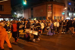 The 2015 Village Halloween Parade Part 4 27 Royalty Free Stock Image