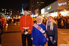 The 2015 Village Halloween Parade Part 4 30. New York's Village Halloween Parade is an annual holiday parade and street pageant presented on the night of every Stock Image