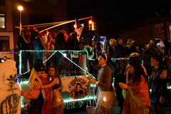 The 2015 Village Halloween Parade Part 4 35 Royalty Free Stock Images