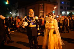 The 2015 Village Halloween Parade Part 4 59. New York's Village Halloween Parade is an annual holiday parade and street pageant presented on the night of every Stock Photography
