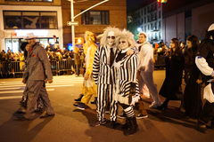 The 2015 Village Halloween Parade Part 4 72. New York's Village Halloween Parade is an annual holiday parade and street pageant presented on the night of every Stock Photos