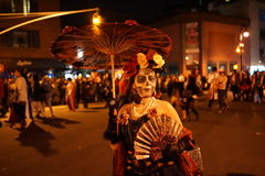 The 2015 Village Halloween Parade Part 4 74. New York's Village Halloween Parade is an annual holiday parade and street pageant presented on the night of every Stock Photos