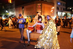 The 2015 Village Halloween Parade Part 5 2. New York's Village Halloween Parade is an annual holiday parade and street pageant presented on the night of every Stock Photo