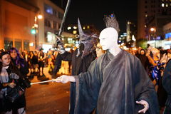 The 2015 Village Halloween Parade Part 5 55 Stock Photos
