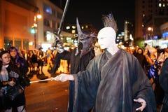 The 2015 Village Halloween Parade Part 5 55 Stock Photos