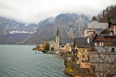 Village of Hallstatt Stock Image
