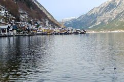 The village of Hallstatt in Austria Stock Photo