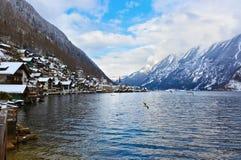 Village Hallstatt on the lake - Salzburg Austria Royalty Free Stock Images