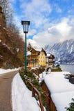 Village Hallstatt on the lake - Salzburg Austria Stock Photography
