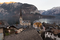 Village of Hallstatt, Salzburger Land, Austria Royalty Free Stock Photos