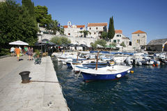Village harbour Royalty Free Stock Photo