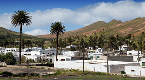 Village of Haria, Lanzarote Stock Photos