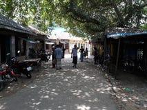A village Hatt. & x28; Bazaar& x29; in Bangladesh Royalty Free Stock Photography