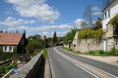 The village of Haute Isle in Val d Oise. France, the village of Haute Isle in Val d Oise Royalty Free Stock Photos