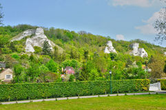Village of Haute Isle in Val d Oise. France, the village of Haute Isle in Val d Oise Royalty Free Stock Photo