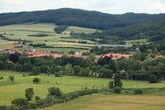The Village Herleshausen Stock Image