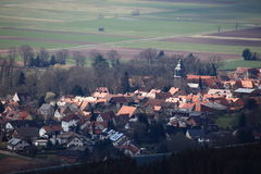 Village of Herleshausen in Germany Royalty Free Stock Photos