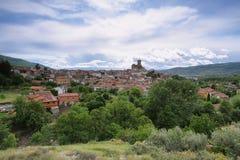 Village of Hervas Stock Image