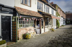 Village High Street Royalty Free Stock Photos
