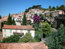 Village on the hill Royalty Free Stock Photos