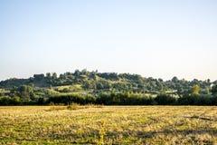 Village on the hills Stock Photo
