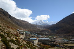 Village in the Himalaya Royalty Free Stock Images