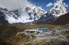 Village in the Himalaya Stock Photography