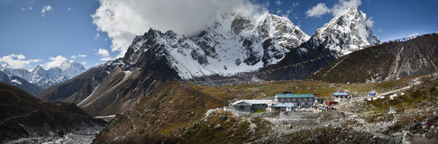Village in the Himalaya Royalty Free Stock Photo