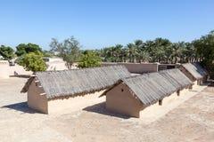 Village historique d'héritage au Foudjairah photographie stock