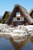 Village historique de patrimoine mondial de Shirakawa Photos stock