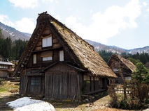 Village historique de Shirakawago Photos libres de droits