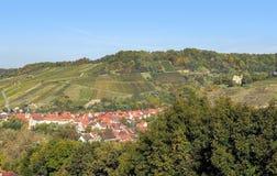 Village in Hohenlohe Stock Photo