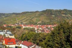 Village in Hohenlohe Royalty Free Stock Photo