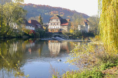 Village in Hohenlohe Royalty Free Stock Photography