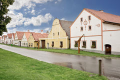 Village of Holasovice, Bohemia Royalty Free Stock Images